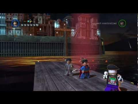 LEGO Batman 2: DC Super Heroes - General Zod Gameplay and Unlock Location