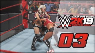 WWE 2K19 | Universe Mode (en Español) - 'ALEXA BLISS Y NIKKI BELLA CHOCAN !' | #03