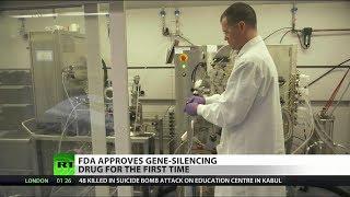 FDA Approves Gene-Silencing Drug