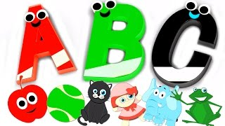 Phonics Song ABC Nursery Rhymes For Kids Children