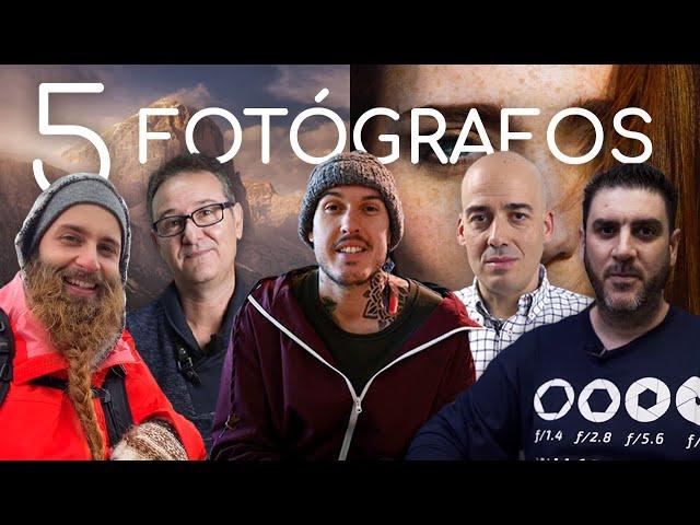5 FOTÓGRAFOS | 10 SECRETOS | 10 ERRORES