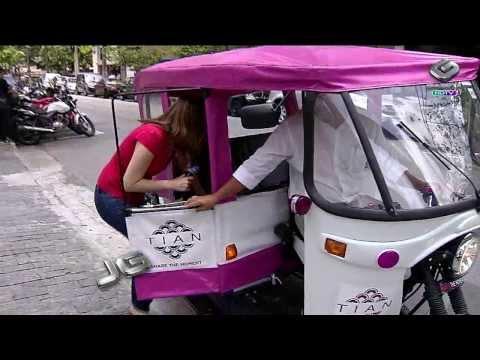 Tuk-tuk, o triciclo asiático, agora é...