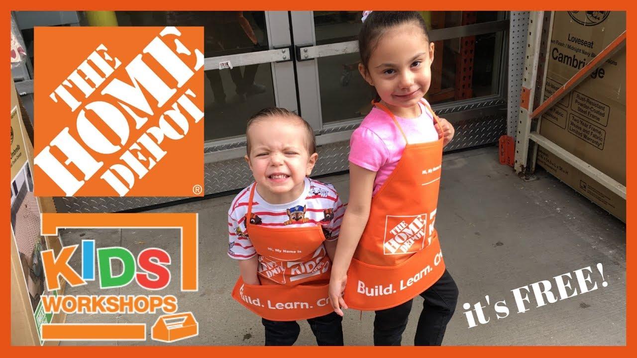 Home Depot Kids Workshop It S Free