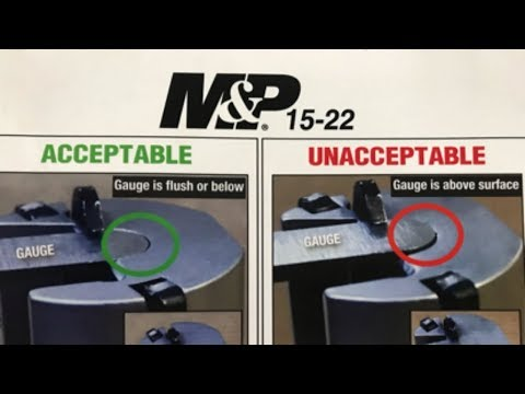 Safety Alert 2019 Smith & Wesson M&P 15-22
