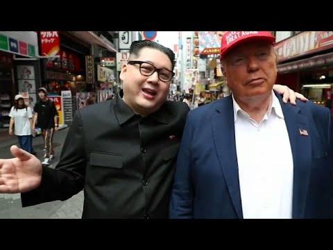 شاهد: شبيها الزعيم كيم والرئيس ترامب يثيران الإعجاب في شوارع أوزاكا اليابانية …  - نشر قبل 3 ساعة