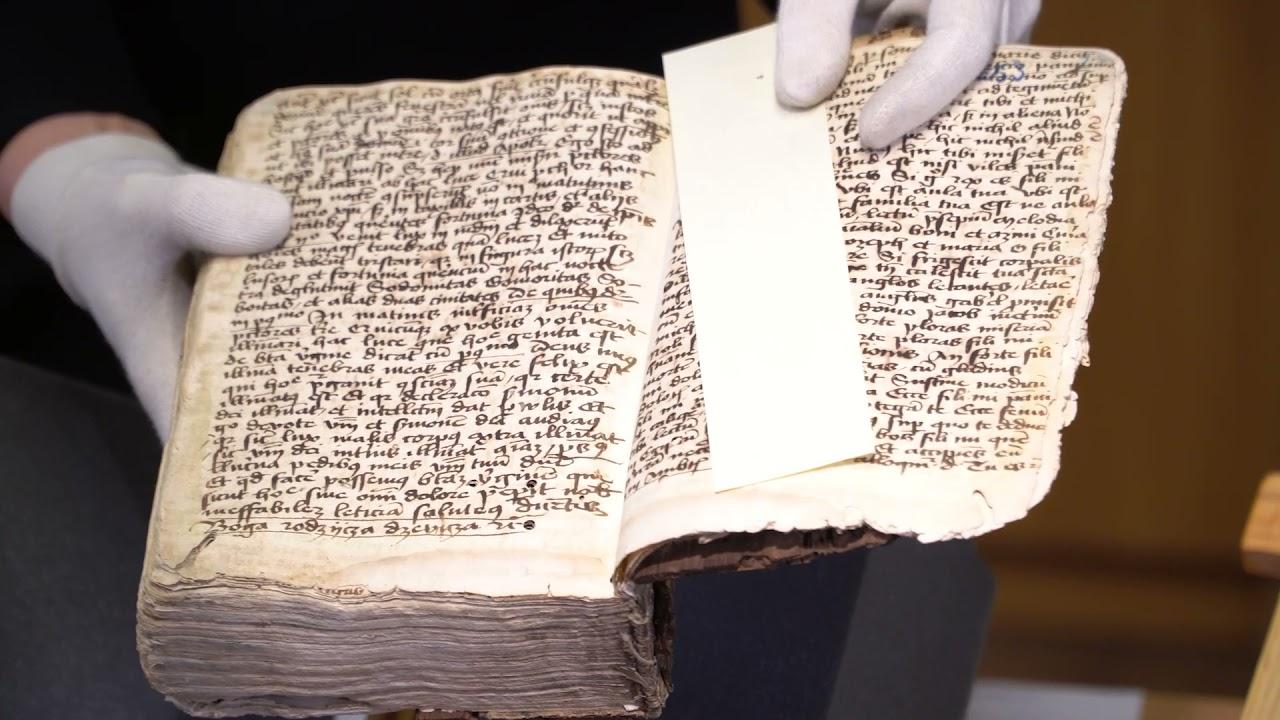 Najstarsze rękopisy w Poznaniu