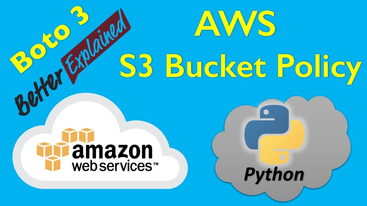 5 AWS Python Tutorial- Playing with AWS S3 Bucket Policies