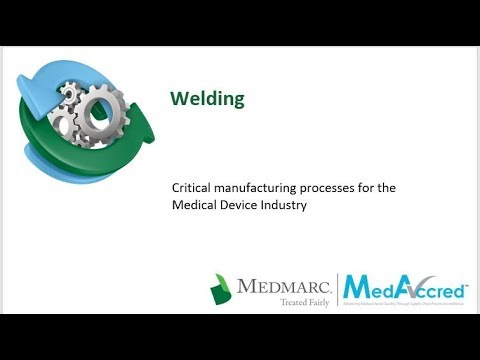 Critical Manufacturing Processes Series - Welding