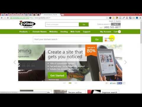 How To Add Your Html Template In Your Godady Hosting