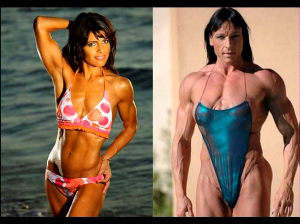 Female Bodybuilders on Steroids. Pro bodybuilders before