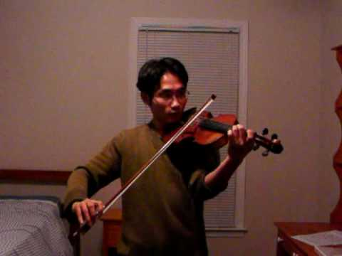 Violin James Bond Theme by Monty Norman By Wilson Tong