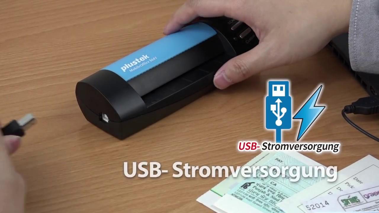 Plustek Mobileoffice S602 A6 Format Scanner