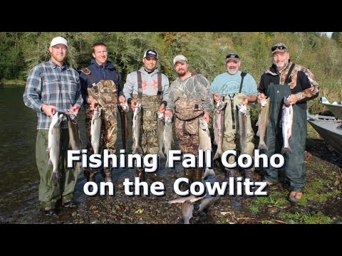 Fishing Fall Coho on the Cowlitz