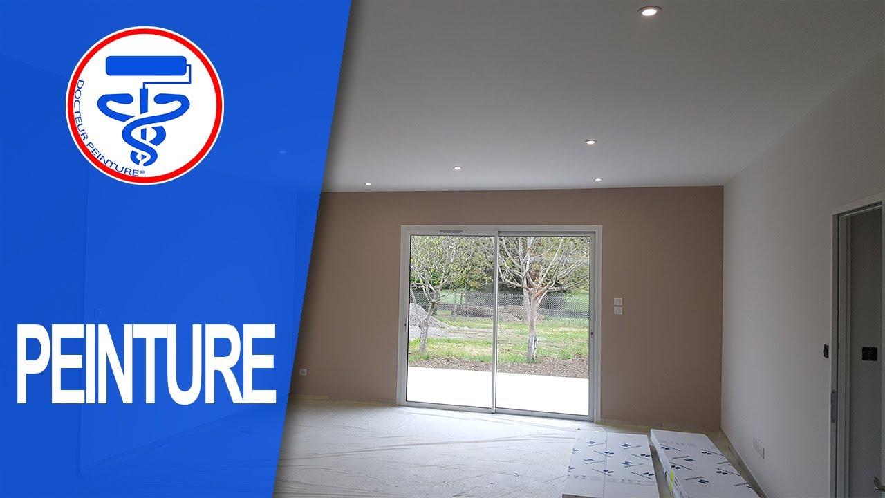 comment peindre un plafond hors norme comme un pro et sans traces youtube. Black Bedroom Furniture Sets. Home Design Ideas