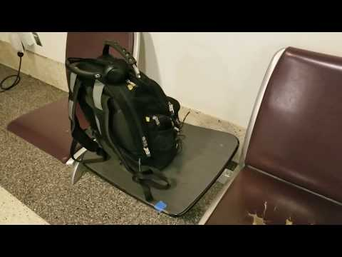 What is in Tony Vera backpack news stringer and paparazzi