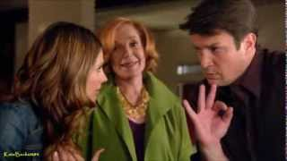 "Castle 6x14 ""Dressed To Kill"" Beckett Martha wedding location plan (HD)"