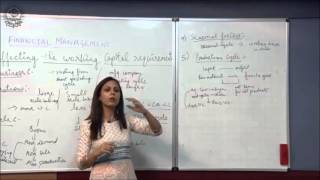 Factor Affecting Working Capital  Class XII Bussiness Studies by Dr  Heena Rana