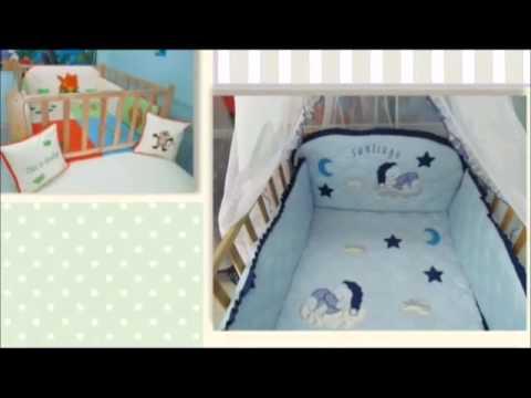 Lenceria bordada para ni os cali youtube - Vinilos para habitaciones de bebes ...