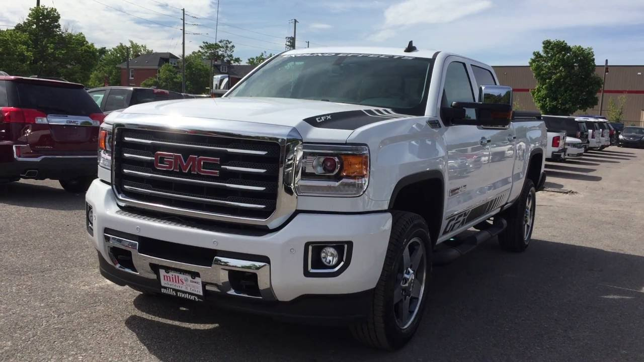 2016 gmc sierra 2500hd slt crew cab 4wd all terrain gfx. Black Bedroom Furniture Sets. Home Design Ideas