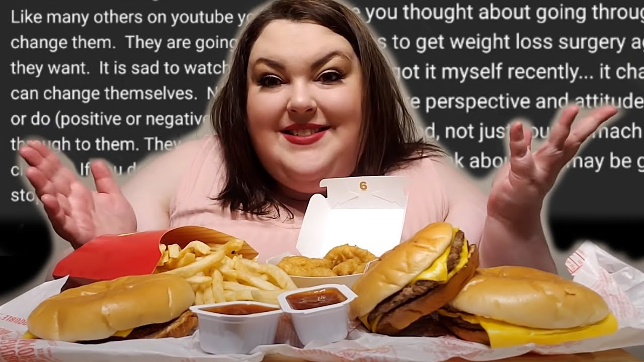 Reading Foodie Beauty's McDonald's Mukbang Comment Section