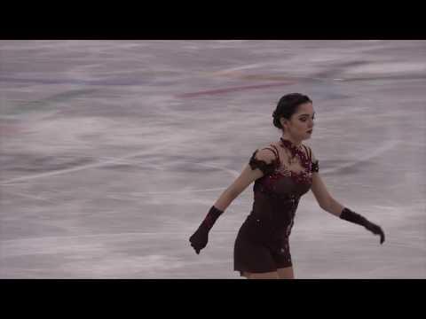 2018 Winter Olympics Figure Ladies Single Skating warm up