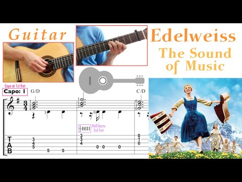 Edelweiss / The Sound of Music (Guitar)