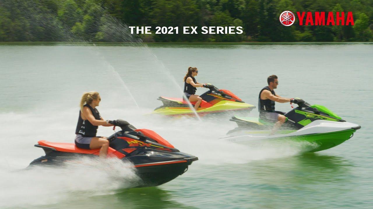 The 2021 Yamaha EX Series WaveRunners