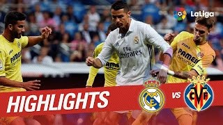 Resumen de Real Madrid vs Villarreal CF (1-1)
