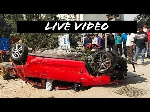 VOKSWAGON POLO GTI LIVE ACCIDENT ||POLO GTI ACCIDENT HYDRABAD||LiveVideo ||DriveSafe
