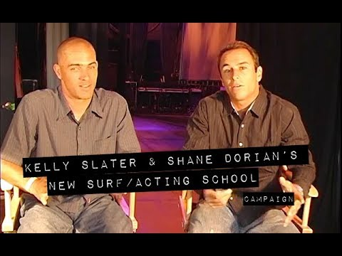 Did You Know Kelly Slater and Shane Dorian Once Tried to Launch an Acting School?