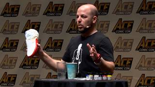 Artist Master Class: Sneaker Customization | 2017 ACE Comic Con Long Island