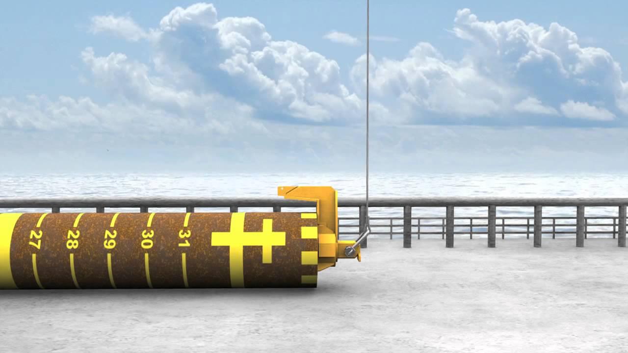 Subsea Pile Driving Amp Handling Long Version Youtube
