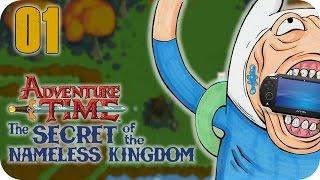 Adventure Time: The Secret Of The Nameless Kingdom PS Vita | Part 1