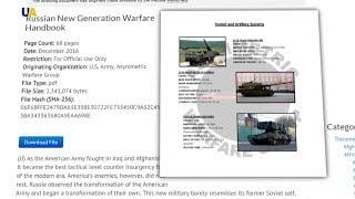 США видали посібник із військової протидії Росії на основі подій в Україні?>