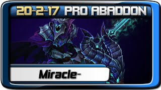 Miracle- is the best Abaddon Player in the world @ Dota 2