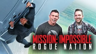 MISSION IMPOSSIBLE Rogue Nation - Movie Review w/ Chris Stuckmann