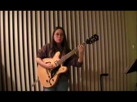 Blues Band Shuffle by  14 year old Alicia Marie on Guitar
