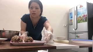 Làm bánh nướng Trung Thu nhân thập cẩm cực ngon