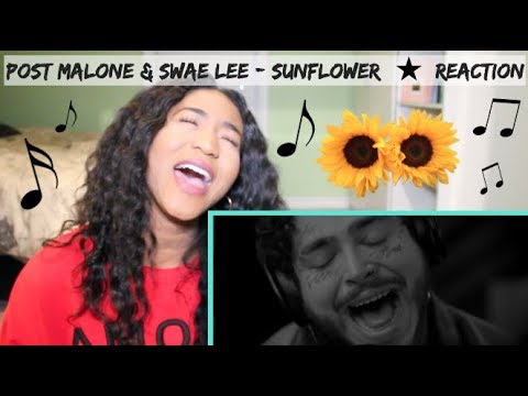 *MY JAM* Post Malone & Swae Lee - Sunflower | REACTION