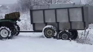 dIY ATV trailer. Прицеп для квадроцикла