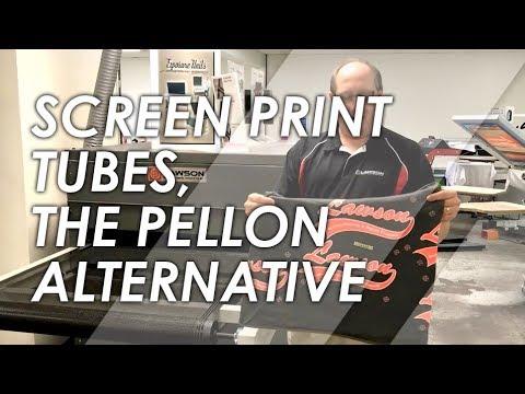 Screen Printing Testing Print Tubes