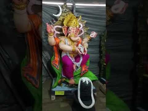 Ganpati Mahotsav 2018 coming soon all demo pieces ready at Mangal Shree art Nandurbar,Maharashtra