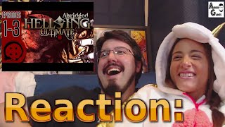 Hellsing Ultimate Abridged Ep.1-3: Let's Watch #AirierReacts