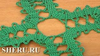 Brugge Lace Tutorial 3 Четырехугольный мотив в технике брюггского кружева