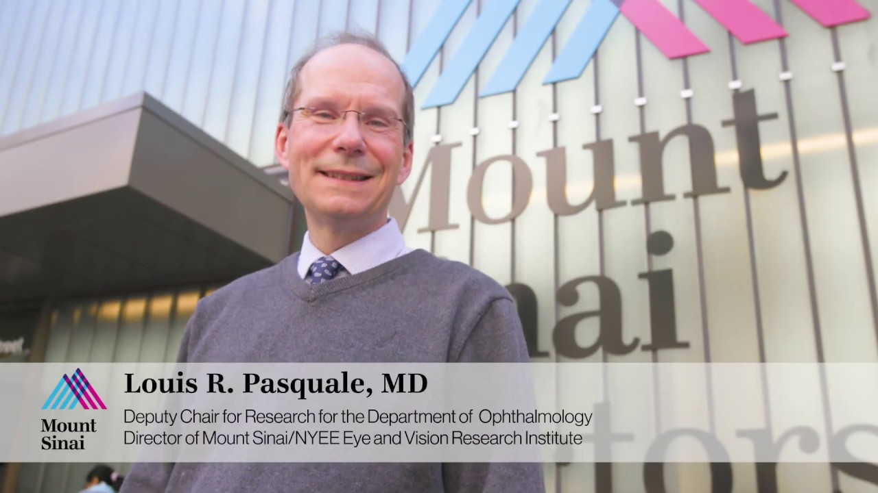 Louis Pasquale, MD: Future Is Bright for Glaucoma Patients