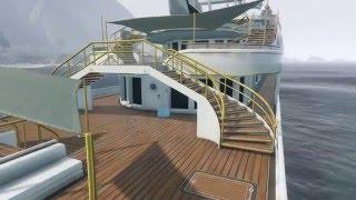 GTA 5 Online 10 Million Dollar Yacht Tour