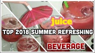 Top 2018 Summer Refreshing - juice - beverage - Drinks