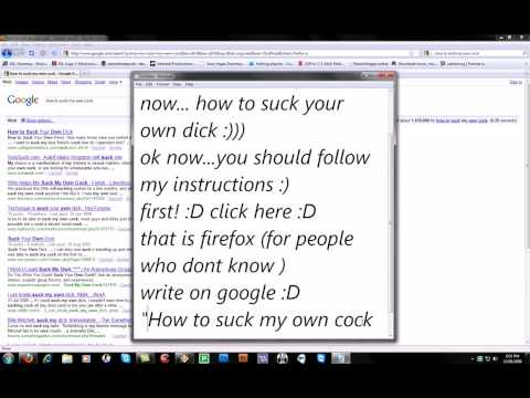How to suck your own cock? :)