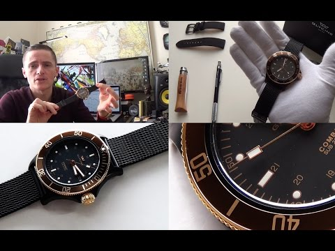 From Switzerland With Love - Glycine Golden Eye Combat Sub Automatic Watch Full Review