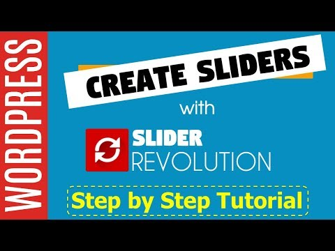 How to Use the Revolution Slider Plugin on Wordpress- FULL TUTORIAL